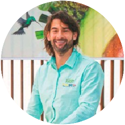 Juan David Restrepo board member of the Colombia Avocado Board